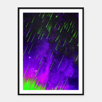 Thumbnail image of ACID P Framed poster, Live Heroes