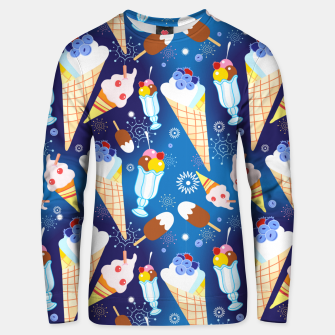 Miniature de image de Ice Cream Unisex sweater, Live Heroes