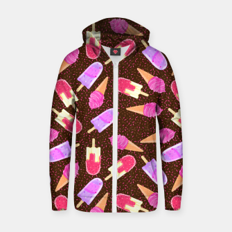 Miniature de image de Ice Cream II Zip up hoodie, Live Heroes