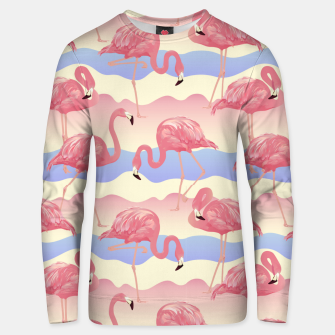 Thumbnail image of Flamingos II Unisex sweater, Live Heroes