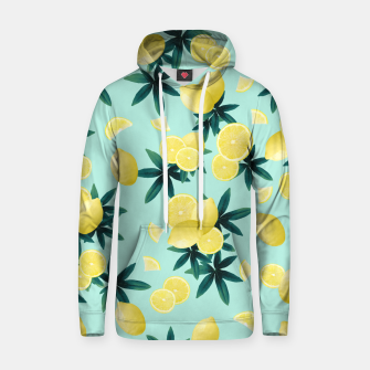 Miniature de image de Lemon Twist Vibes #1 #tropical #fruit #decor #art Kapuzenpullover, Live Heroes