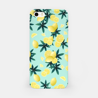 Miniaturka Lemon Twist Vibes #1 #tropical #fruit #decor #art iPhone-Hülle, Live Heroes