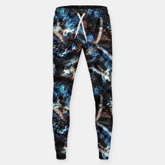 Thumbnail image of Snake skin pattern reptile Sweatpants, Live Heroes