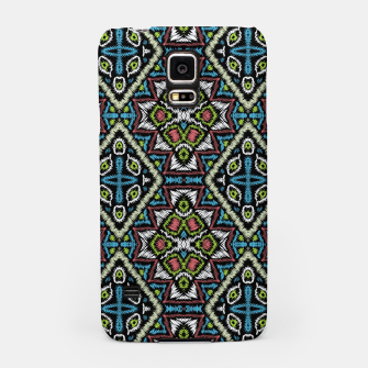 Thumbnail image of Seamless embroidery tribal ethno boho ornamental pattern background Samsung Case, Live Heroes