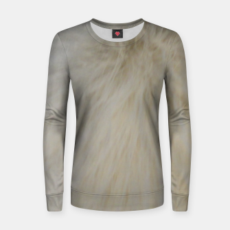Thumbnail image of Animal hair Women sweater, Live Heroes