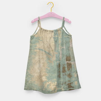 Miniatur ancient bamboo pattern Girl's dress, Live Heroes