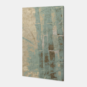 Miniatur ancient bamboo pattern Canvas, Live Heroes