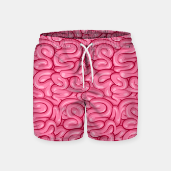 Thumbnail image of brain Swim Shorts, Live Heroes