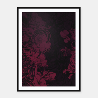 Thumbnail image of Dark Framed poster, Live Heroes