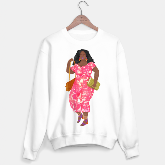Thumbnail image of Eurydice Sweater regular white, Live Heroes
