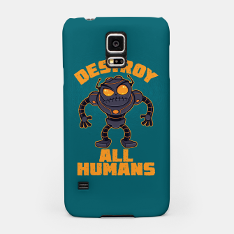 Thumbnail image of Destroy All Humans Angry Robot Samsung Case, Live Heroes
