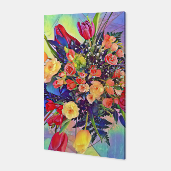 Thumbnail image of  bouquet of flowers Canvas, Live Heroes