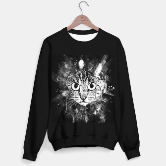 Miniature de image de cat big eyes wsbw Sweater regular, Live Heroes