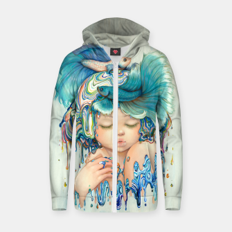 Thumbnail image of Pisces Zodiac Zip Up Hoodie, Live Heroes