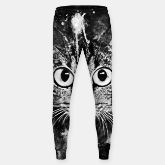 Miniature de image de cat big eyes wsbw Sweatpants, Live Heroes