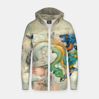Thumbnail image of Hydie Zip Up Hoodie, Live Heroes