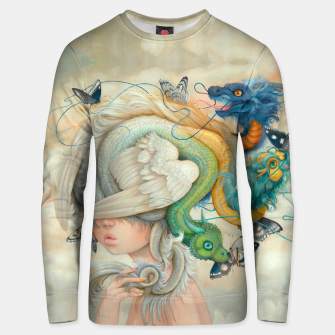 Thumbnail image of Hydie Unisex Sweater, Live Heroes