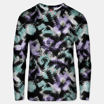 Thumbnail image of Abstract splashes Unisex sweater, Live Heroes