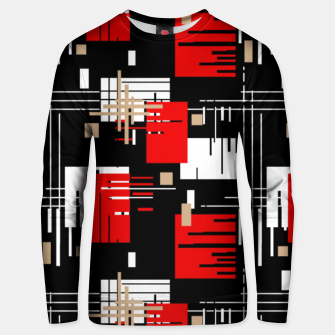 Thumbnail image of Abstract seamless modern pattern Unisex sweater, Live Heroes