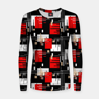 Thumbnail image of Abstract seamless modern pattern Women sweater, Live Heroes