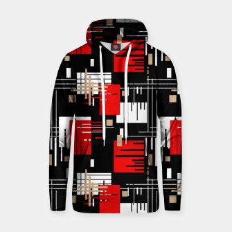 Thumbnail image of Abstract seamless modern pattern Hoodie, Live Heroes