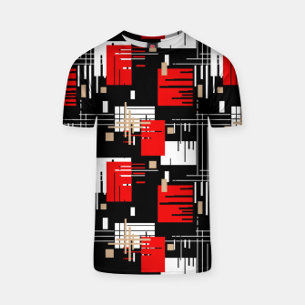 Thumbnail image of Abstract seamless modern pattern T-shirt, Live Heroes