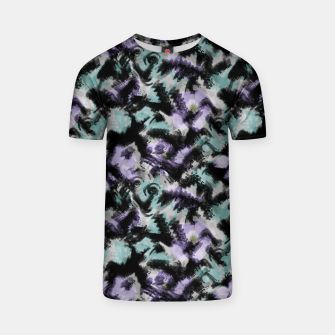Thumbnail image of Abstract splashes T-shirt, Live Heroes
