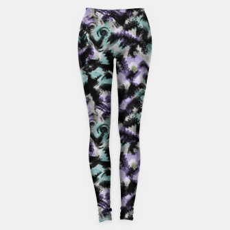 Thumbnail image of Abstract splashes Leggings, Live Heroes