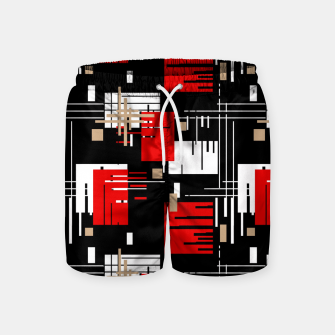 Thumbnail image of Abstract seamless modern pattern Swim Shorts, Live Heroes