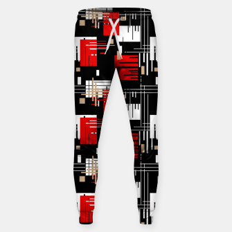 Thumbnail image of Abstract seamless modern pattern Sweatpants, Live Heroes