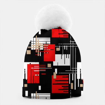 Thumbnail image of Abstract seamless modern pattern Beanie, Live Heroes