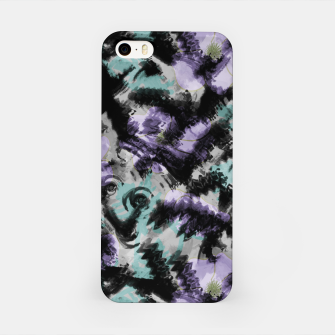 Thumbnail image of Abstract splashes iPhone Case, Live Heroes