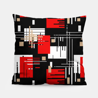 Thumbnail image of Abstract seamless modern pattern Pillow, Live Heroes