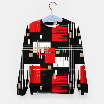 Thumbnail image of Abstract seamless modern pattern Kid's sweater, Live Heroes