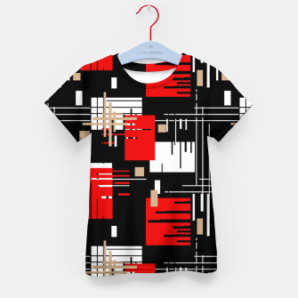 Thumbnail image of Abstract seamless modern pattern Kid's t-shirt, Live Heroes
