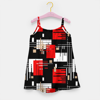 Thumbnail image of Abstract seamless modern pattern Girl's dress, Live Heroes