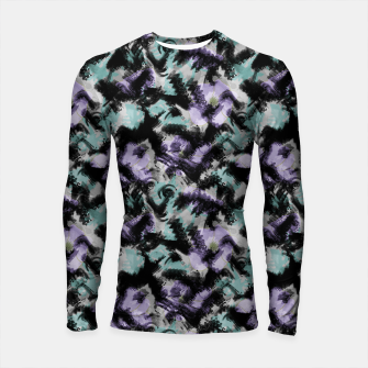 Thumbnail image of Abstract splashes Longsleeve rashguard , Live Heroes