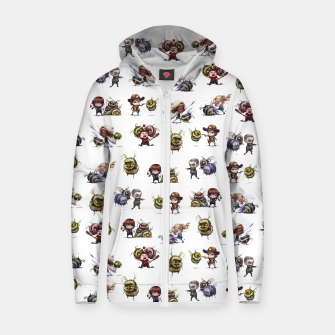 Thumbnail image of The Walking Dead Zombees Zip Up Hoodie, Live Heroes