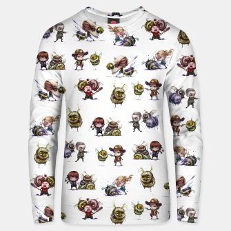 Miniatur The Walking Dead Zombees Unisex Sweater, Live Heroes