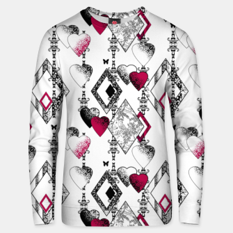 Love , Valentine's day , red , heart , wedding Unisex sweater thumbnail image