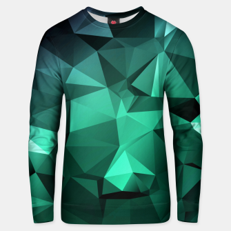 Thumbnail image of green polygon , green , polygon , geometric Unisex sweater, Live Heroes