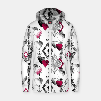 Love , Valentine's day , red , heart , wedding Zip up hoodie thumbnail image