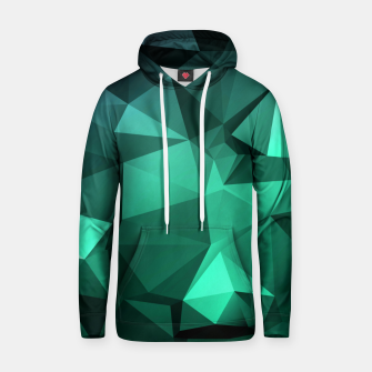 Thumbnail image of green polygon , green , polygon , geometric Hoodie, Live Heroes