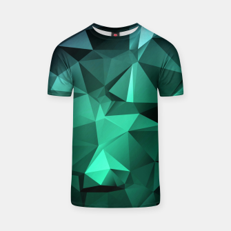 Thumbnail image of green polygon , green , polygon , geometric T-shirt, Live Heroes