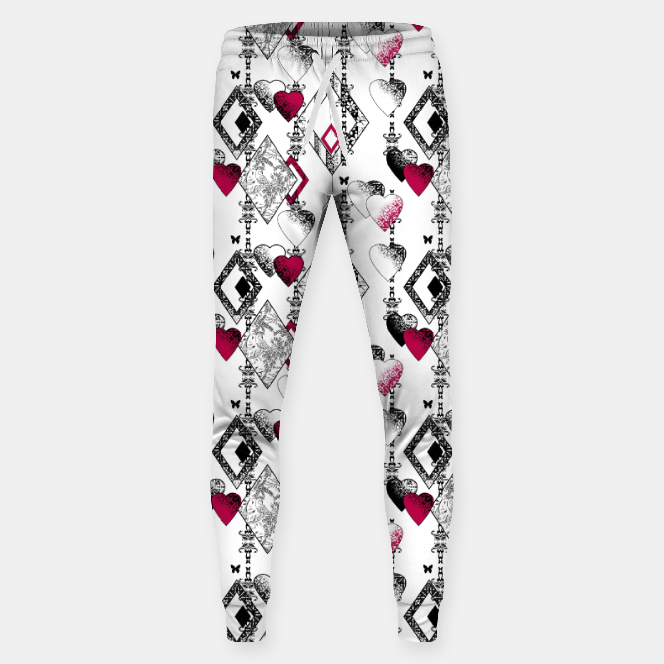 Image of Love , Valentine's day , red , heart , wedding Sweatpants - Live Heroes