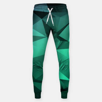 Thumbnail image of green polygon , green , polygon , geometric Sweatpants, Live Heroes