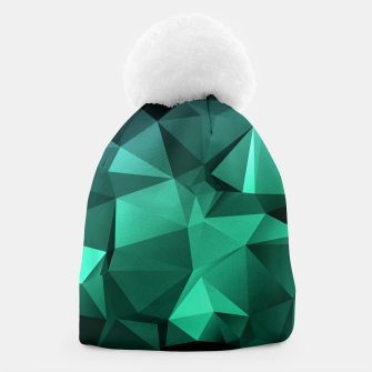 Thumbnail image of green polygon , green , polygon , geometric Beanie, Live Heroes