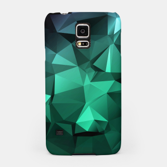 Thumbnail image of green polygon , green , polygon , geometric Samsung Case, Live Heroes