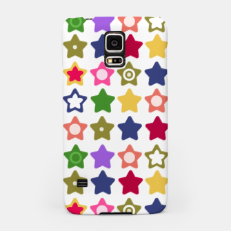 Miniatur Multi-colored stars , stars , bright Samsung Case, Live Heroes