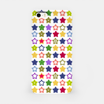 Thumbnail image of Multi-colored stars , stars , bright iPhone Case, Live Heroes